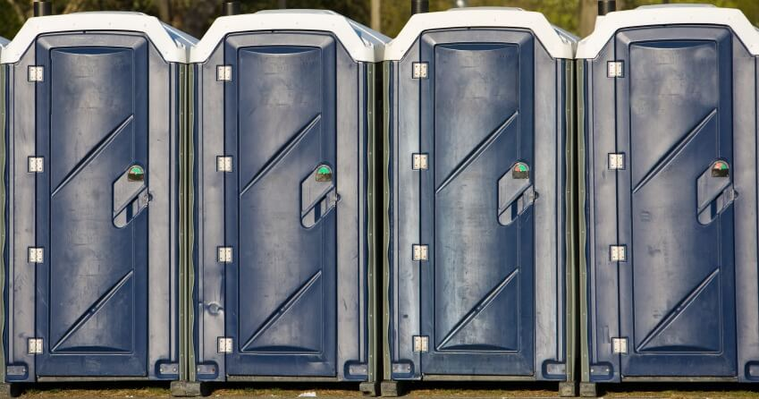 porta potty rental in Burlingame, CA