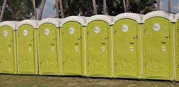 portable toilet rental in Irving, TX