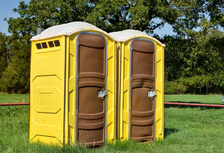standard porta potty rental in Irving, TX